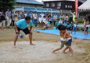 金太郎相撲大会の様子